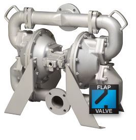 X75 metallic flap valve 32410e